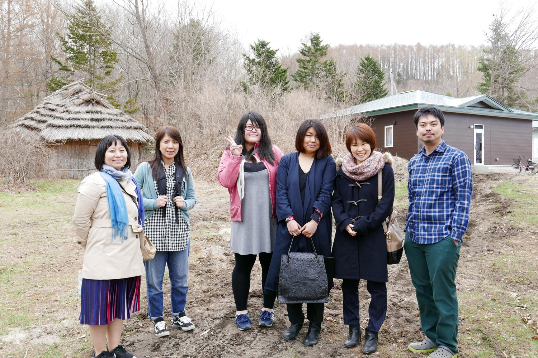 広報プロジェクト yantoを見学